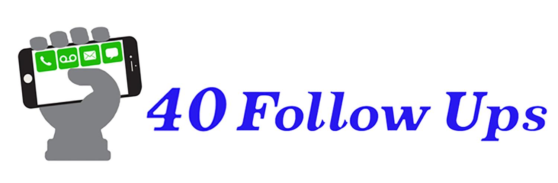 40 Follow Ups Logo